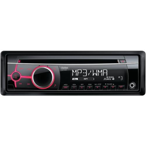 New Clarion Cz102 45-Watt X 4 Single-Din In-Dash Cd/Mp3/Wma Receiver With 3.5Mm