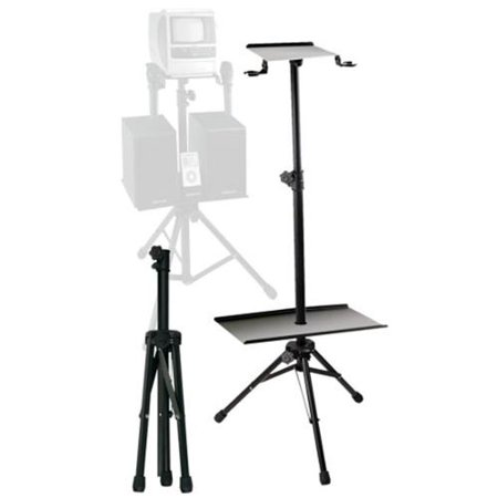 Emerson AC168 Karaoke Stand For Small TV And Speakers by