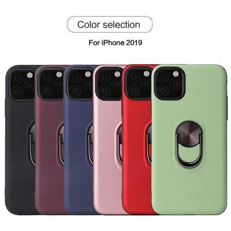 For iPhone 11/ Pro /Pro Max Case 2019 Ring Holder Magnetic Hybrid Rubber Stand (Best Motorcycle Deals 2019)