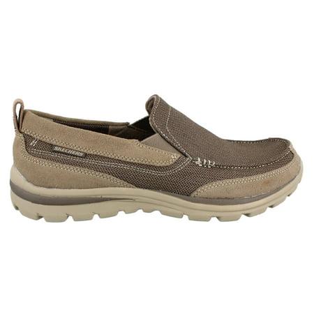 72d317af Skechers - Men's Skechers, Superior Milford Slip on Shoe Wide Width -  Walmart.com