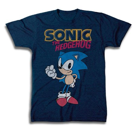 Sega Official Sonic The Hedgehog Shirt - The Fastest Thing Alive - The Blur Blur - Official T-Shirt SONIC THE HEDGEHOG We all remember joining Sonic, Tails, Amy in Knuckles in their first struggle against Dr. Eggman on Sega Genesis in 1991. Today you can represent the world's longest running video game with a Sonic T-shirt, in classic style.  HOW FAST CAN YOU ROLL Stop Dr. Eggman and foil any plans of world domination with these Sonic shirts of the world's fastest roller. OFFICIALLY LICENSED Officially licensed apparel and high-quality prints on these Sonic the Hedgehog t-shirts make them perfect gift for men everywhere. Whether it be for Father's Day, Christmas or a Birthday, CREW CUT NECK Short sleeves and a classic crew cut neck make this comfortable graphic tee, one men will love to wear. MENS SIZES Prints are available in Mens Clothing Sizes Mens Clothing Sizes: Small, Medium, Large, X-Large.Sega Shirt For MenOfficially Licensed100% CottonMachine WashableSizes: S, M, L, XL, and XL