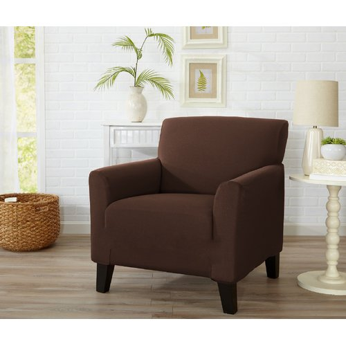 Home Fashion Designs Dawson Box Cushion Armchair Slipcover