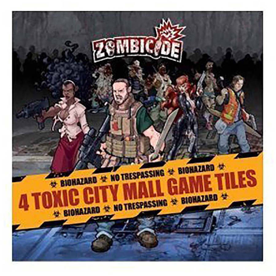 Zombicide Toxic City Mall Double-Sided Game Tiles