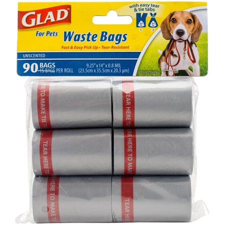 Glad for Pets, Waste Bags, 95 Count