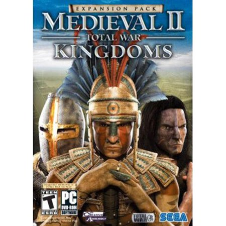 MEDIEVAL II 2 Total War - KINGDOMS Expansion (PC Game) Four More Kingdoms, Four New (Best Computer For Total War Games)