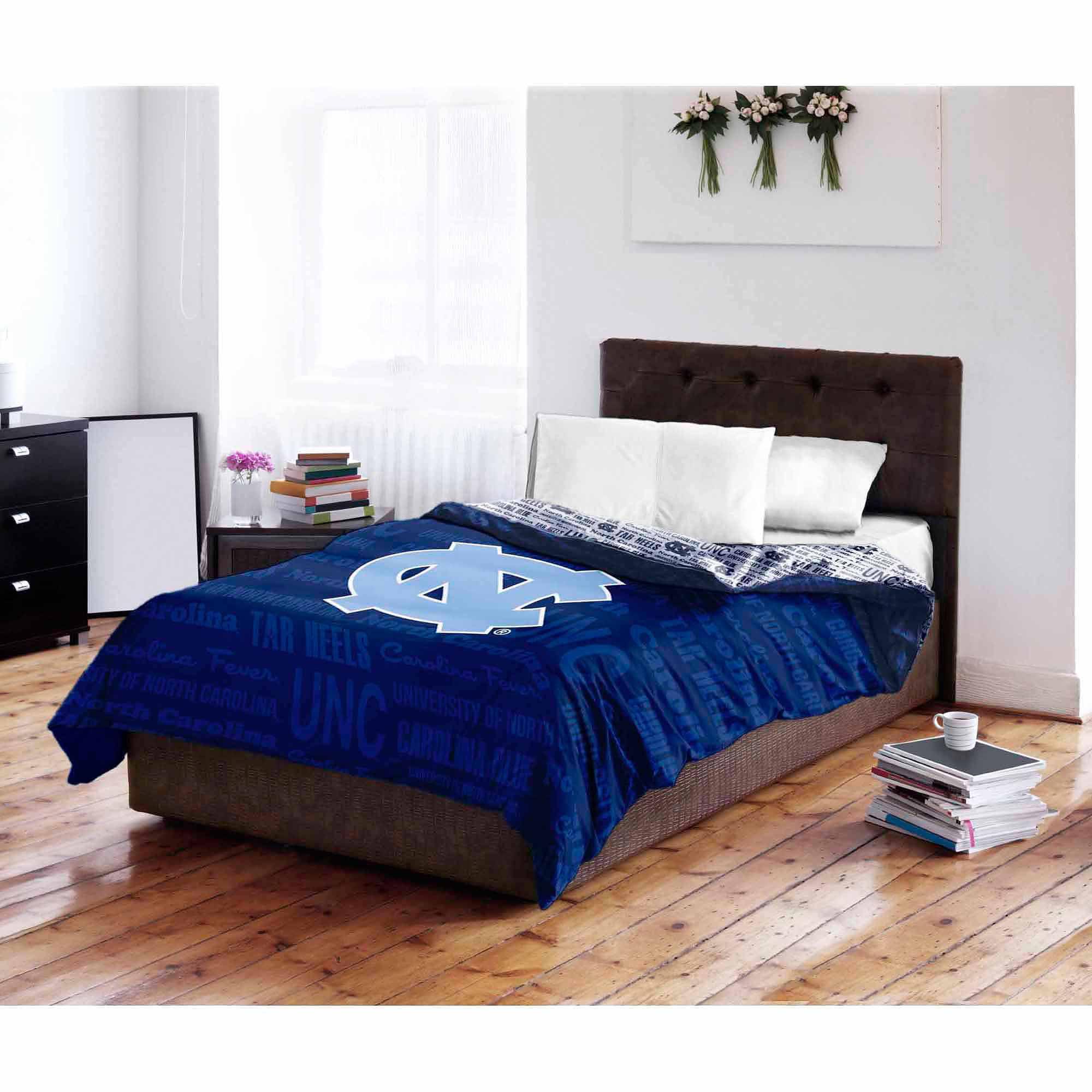 NCAA North Carolina Tar Heels Twin/Full Bedding Comforter