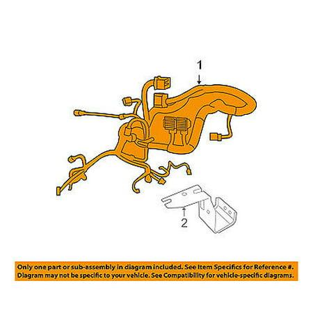 Jeep CHRYSLER OEM-Engine Control Module ECM PCU PCM Wiring Harness 68081220AH