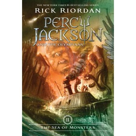 Percy Jackson and the Olympians, Book Two The Sea of