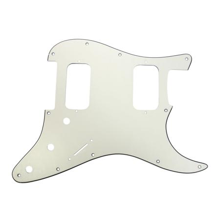 Fender Standard Stratocaster Pickguard (920D Strat 3 Ply HH Pickguard Fender Stratocaster CNC Cut, Parchment)