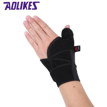 Thumb Strap (Brace Wrist Support Thumb Cover Wrap Belt Hand Strap Protector Gym Fitness )