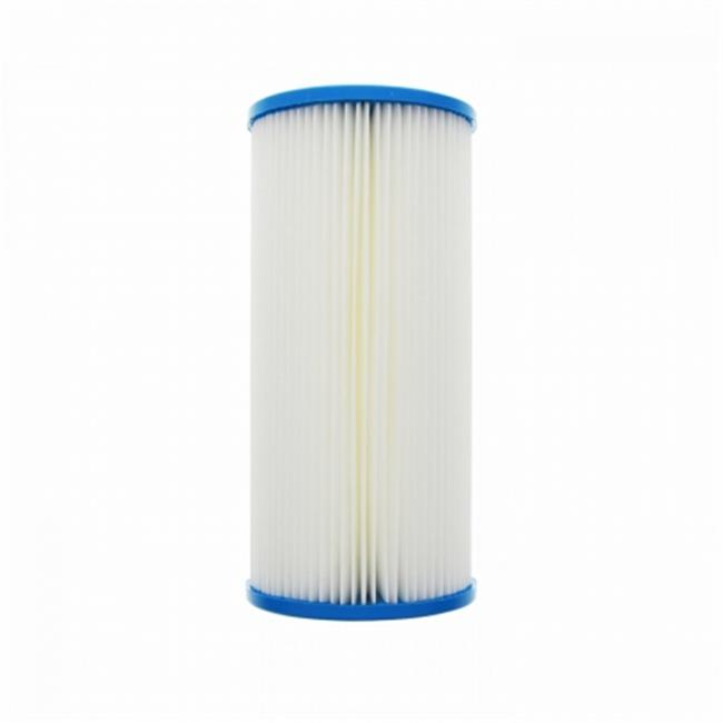 Commercial Water Distributing HYDRONIX-SPC-45-1010 Hydronix HYDRONIX-SPC-45-1010 10 in. x 4.5 in. Pleated Sediment Water Filter 10 Micron