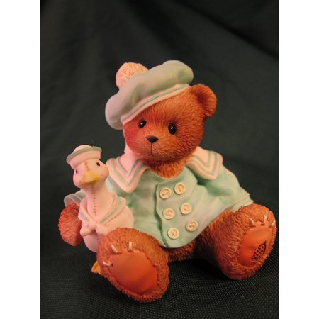 Cherished Teddie           Cole  Rare Bear     Weve Got A Lot To Be Thankful For By Pricilla And Glenn Hillmans Cherished Teddies Collection