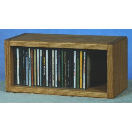 Desktop CD Storage (Honey Oak)