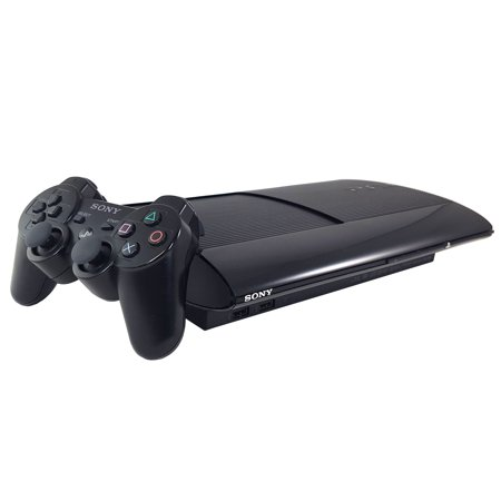 Refurbished Sony PlayStation 3 PS3 500GB Video Game Console and Black DS3
