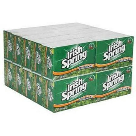 Product Of Irish Spring, Deodorant Soap - Original, Count 20 (3.75 oz) - Soap/Body Wash/Shaving Creams / Grab Varieties & Flavors