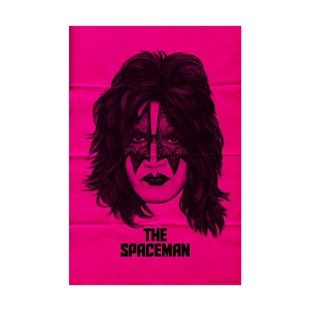 KISS - The Spaceman (Pink) Poster Wall - Kiss Spaceman Makeup