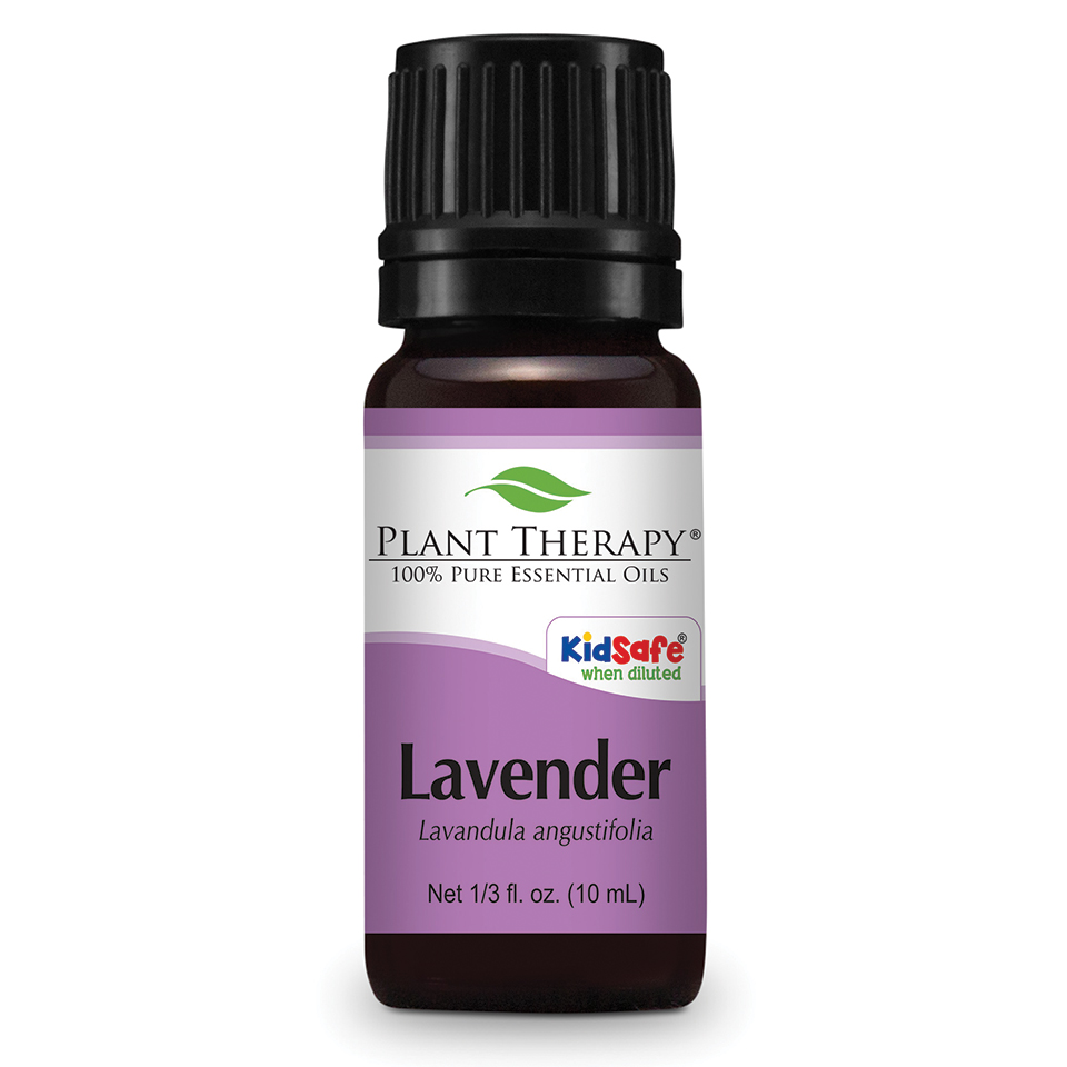 Plant Therapy Lavender Essential Oil 10 mL (1/3 fl. oz.) 100% Pure, Undiluted, Therapeutic Grade