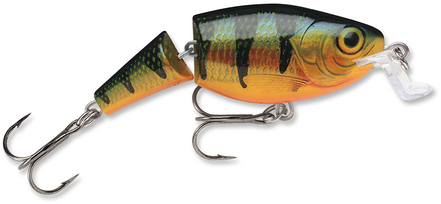 Rapala Jointed Shad Rap Rattlin' Lure, Perch JSSR07P by
