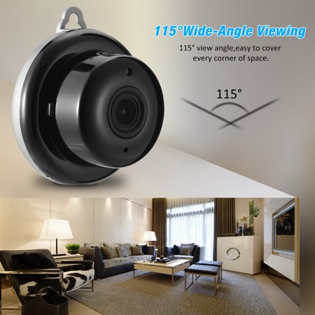 Digoo DG-M1Q 960P 2.8mm Wireless Mini WIFI Night Vision Smart Home Security IP Camera Onvif MonitorNote: IP Camera only support 2.4G RouterDescriptionBrandDigooModelDG-M1Q 2017 Smart Home  - image 6 de 11