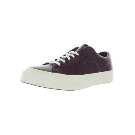 Converse Mens One Star Ox Leather Skate Fashion Sneakers