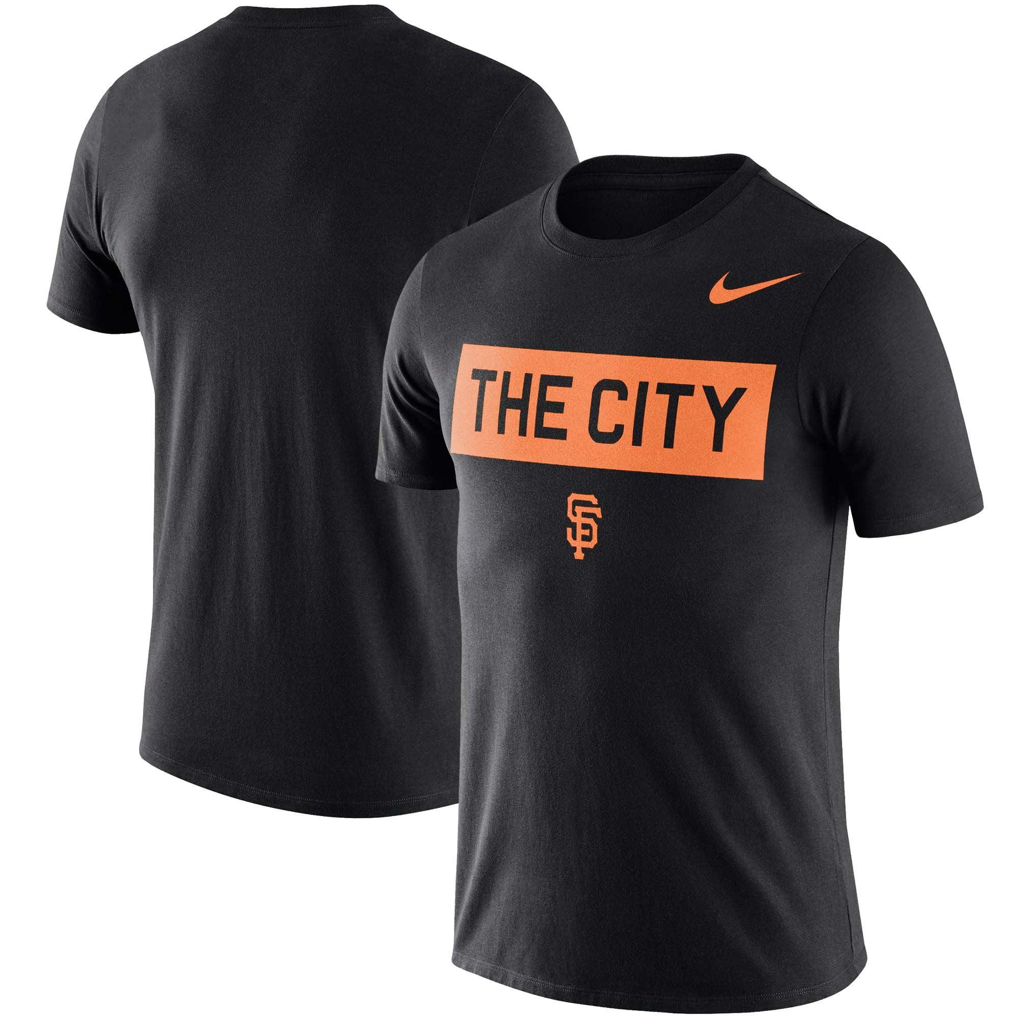 San Francisco Giants Nike Local Phrase Performance T-Shirt - Black