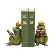 Sterling Superior Frog 2 Piece Bookend Set in Painted