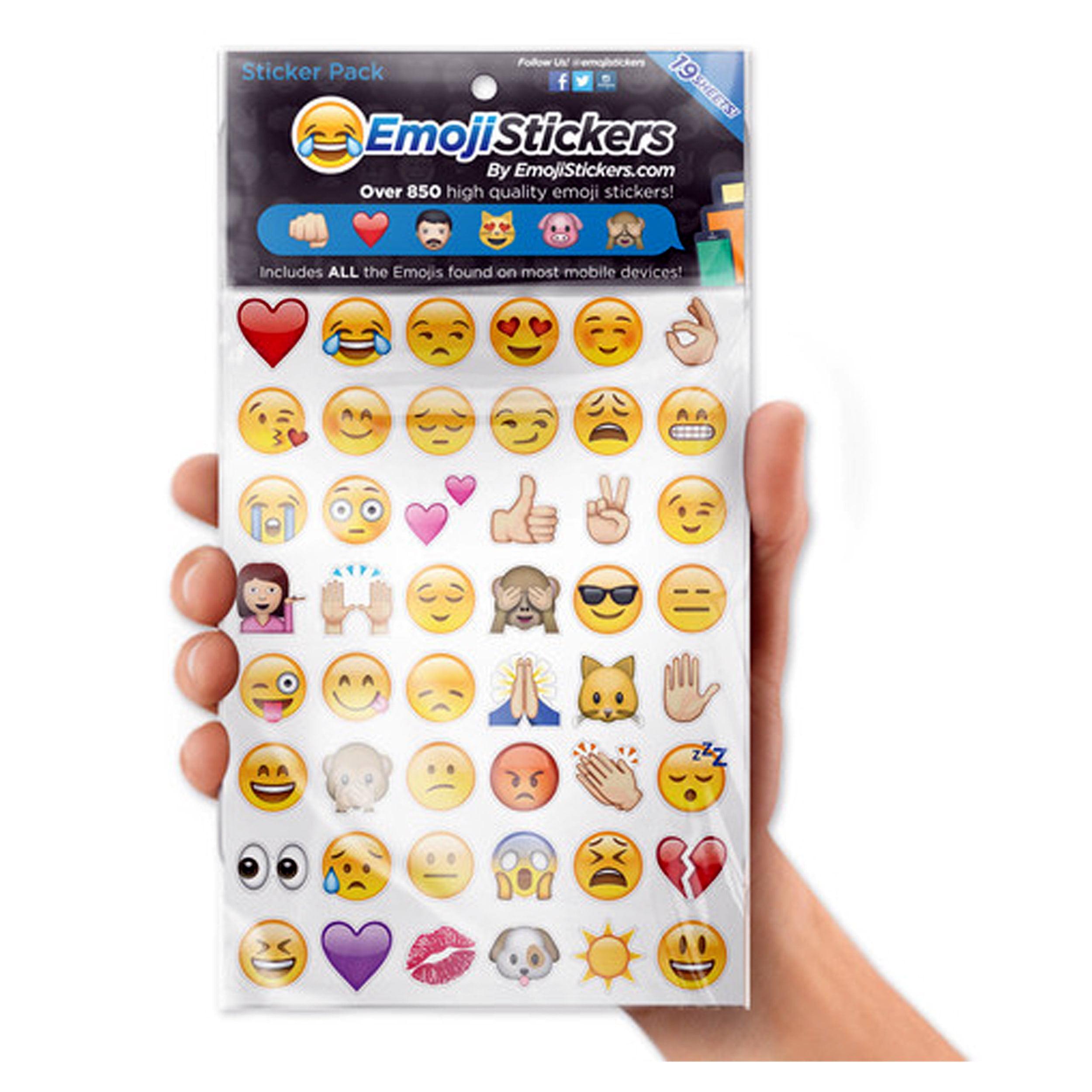 Emoji stickers 19 sheets walmart com