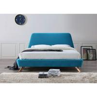 Omax Decor Henry Upholstered Platform Bed