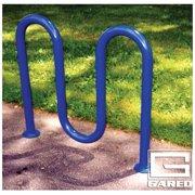 Loop-Style 5 Bikes Rack