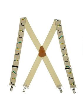2822190f4d9 Product Image Suspender Store Duck Suspenders Beige 0-42-TANDUCK-15-N