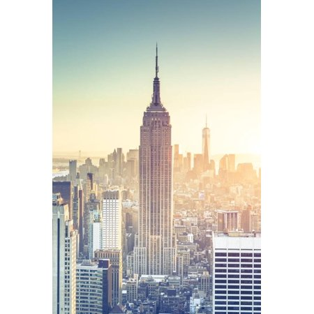 Usa, New York, New York City, Empire State Building and Midtown Manhattan Skyline Print Wall Art By Michele - Midtown Party City