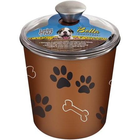 - Loving Pets Products Bella Canister, Copper