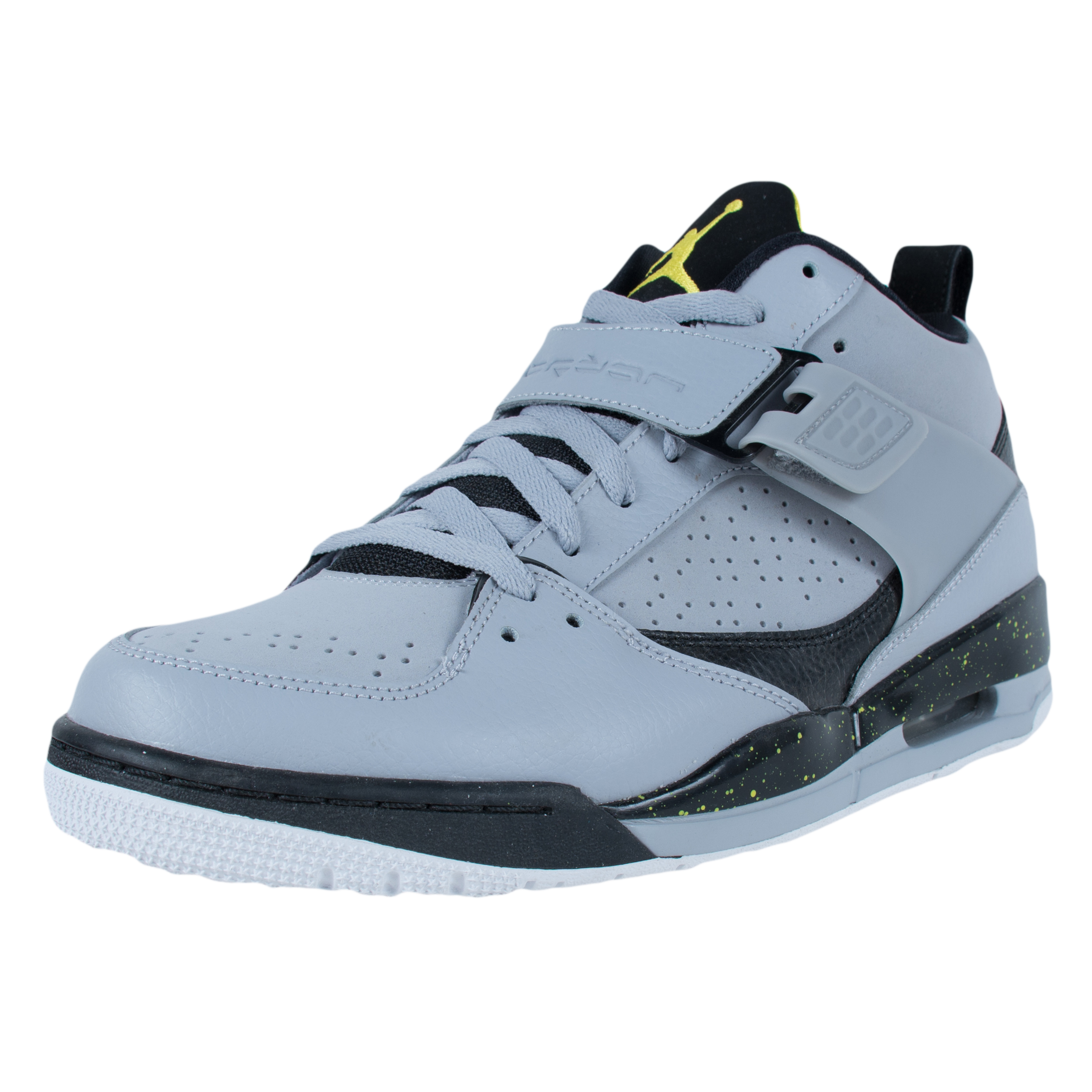 Jordan Nike Air Jordan Flight 45 Basketball Shoes Wolf Grey