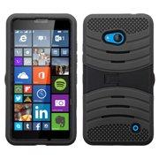 For Microsoft Lumia 640 Hybrid +Silicone Protector Cover Case +Stand
