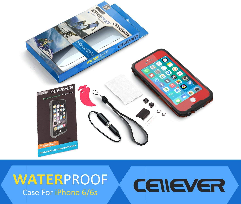 Cellever Iphone 6 Waterproof Case Shockproof Ip68 Certified
