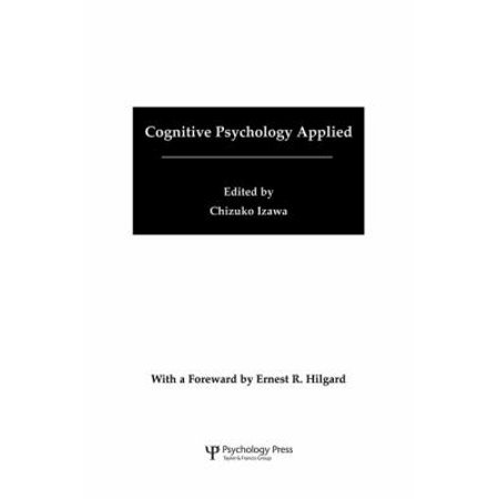 Cognitive Psychology Applied  A Symposium At The 22Nd International Congress Of Applied Psychology