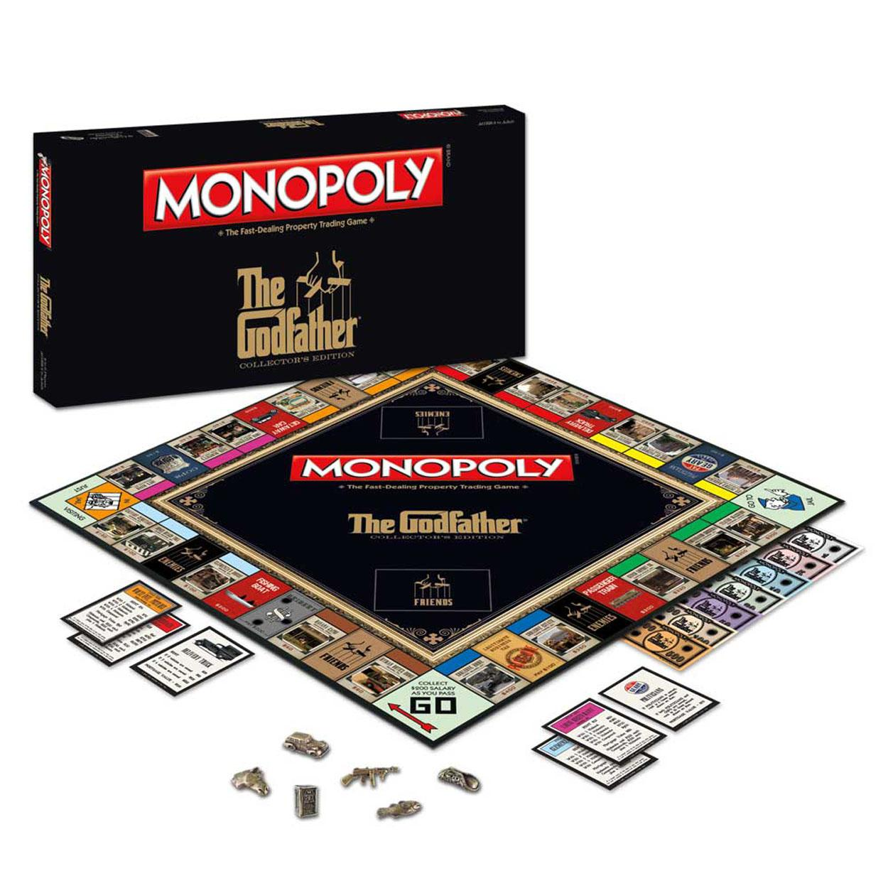 Monopoly The Godfather Edition Board Game by USAOPOLY, Inc