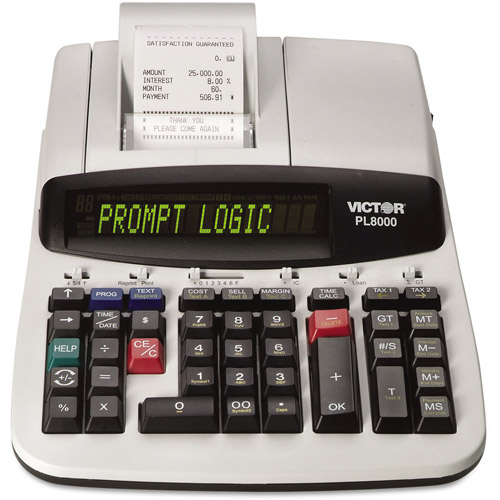 Victor PL8000 Desktop One-Color Printing Calculator