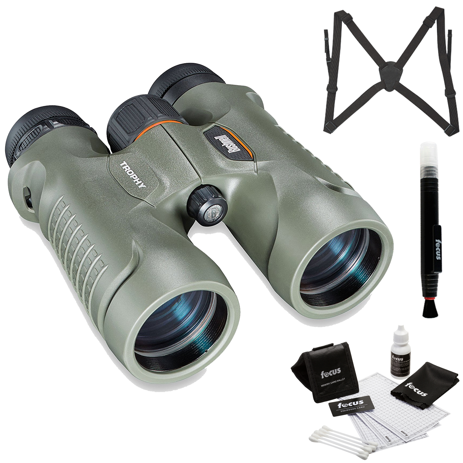 Bushnell Trophy Xtreme 8x32 Roof Prism Binoculars with Ha...
