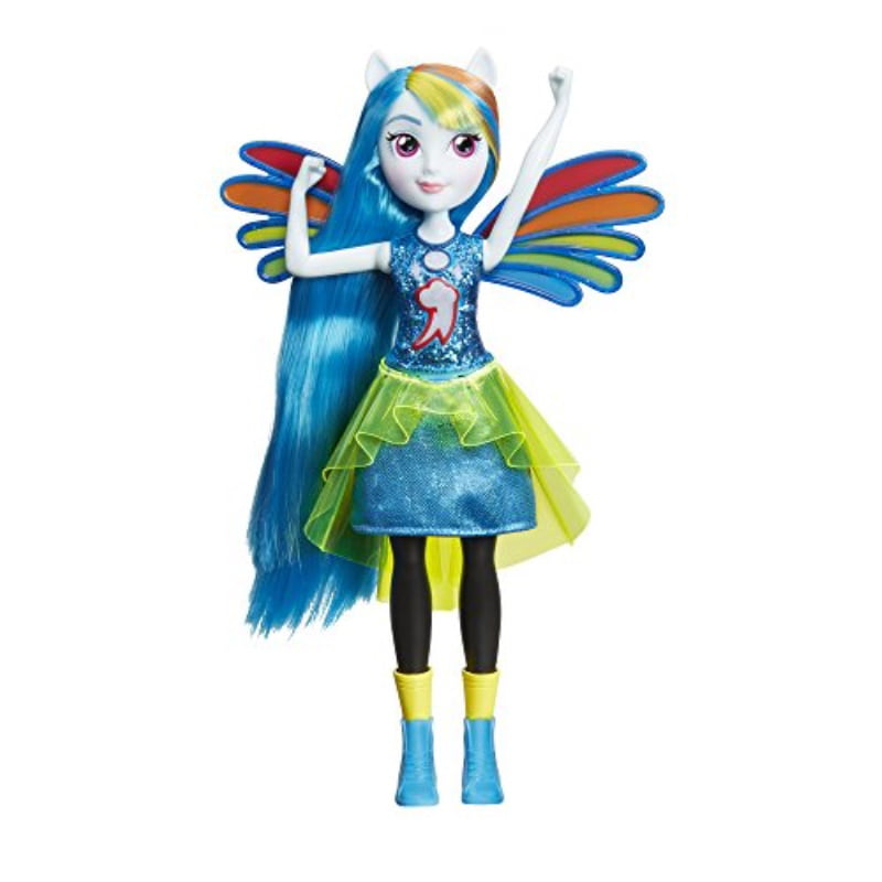 My Little Pony Equestria Girls Rainbow Dash Fashion Dolls - Walmart.com -  Walmart.com