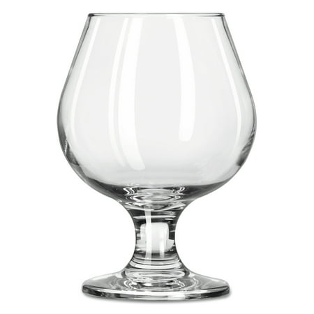 Libbey Embassy Brandy Glasses, 9.25 oz, Clear