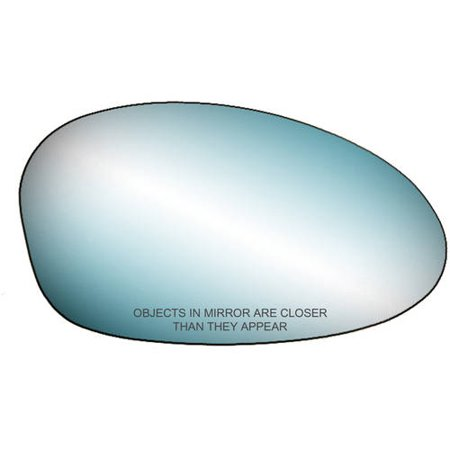 90274 - Fit System Passenger Side Mirror Glass, BMW 1 Series Convertible/ Coupe 08-09, 3 Series Convertible/ Coupe 07-09 , 3 Series M3 99-06, 3 Series Sedan/Wagon 06-08 (blue - Power M3 Mirrors