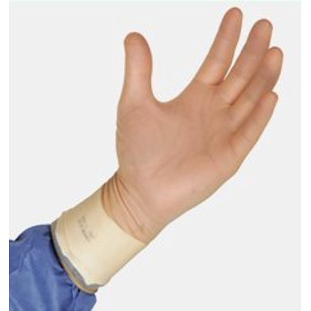 Protexis PI Classic Surgical Glove Sterile Powder Free Polyisoprene Hand Specific Smooth Ivory Size 6.5, 1 -