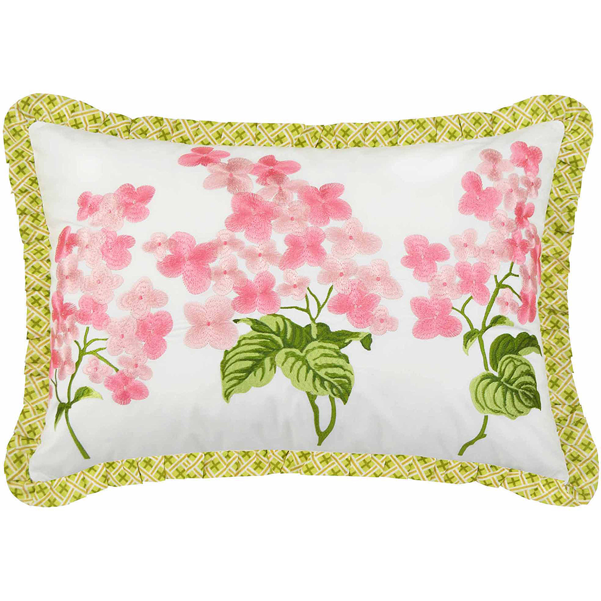 "Emma's Garden 14"" x 20"" Decorative Pillow"