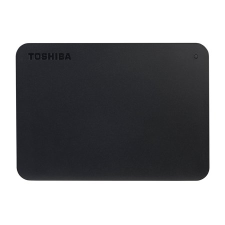 Toshiba Canvio Basics 1TB Portable External Hard Drive USB 3.0 Black - (External Data Storage Usb)