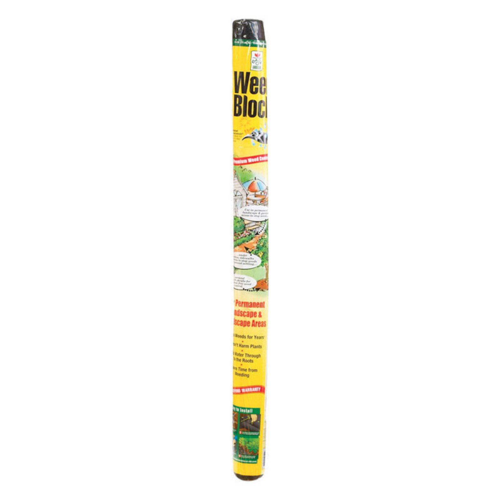 Easy Gardener 1001 3' x 25' Weedblock Landscape Fabric