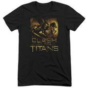 Clash Of The Titans Heroes Mens Tri-Blend Short Sleeve Shirt