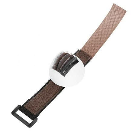 Yosoo Eyelashes Stand Holder, Adjustable Strap Handheld Grafting Eyelashes Stand Strip Eyelashes Extension Holder, Eye Lash Stand Pallet Holder - image 7 of 9