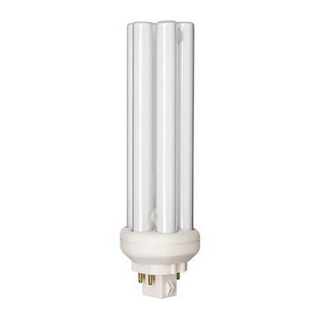 Philips Lighting 149005 PL-T Linear Compact Fluorescent Lamp 38 Watt 4-Pin GX24q-4 Base 3200 Lumens 82 CRI 2700K Incandescent White -