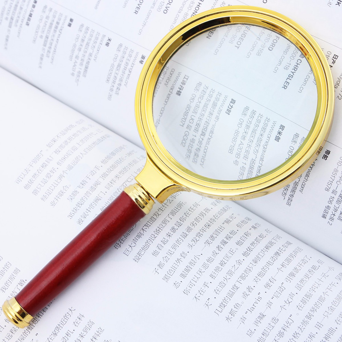 """10X 70mm Handheld Portable Magnifier 2"""" Reading Jewelry Loupe Magnifying Glass - Lightweight Design-Clearance"""